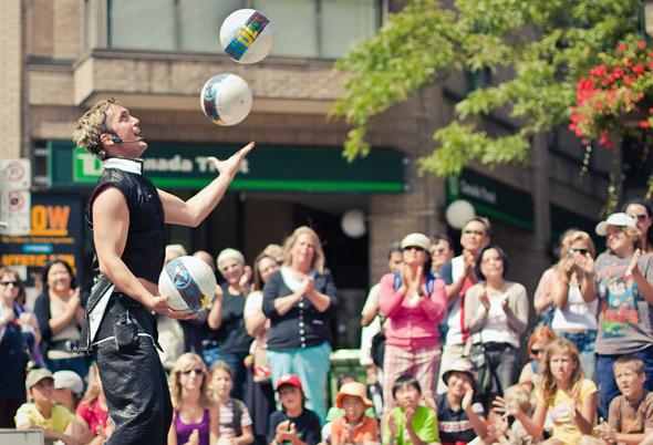 BuskerFest 2010 Toronto