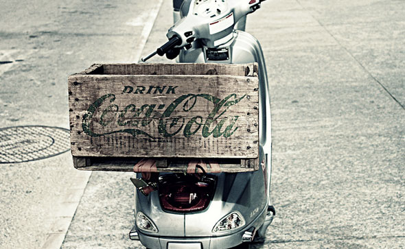 Coca Cola Scooter