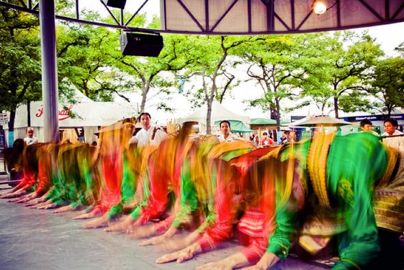 saman dance toronto