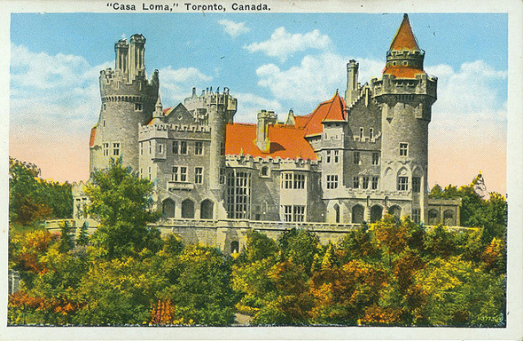 Nostalgia tripping casa loma for Casa loma mansion toronto