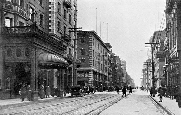 King Edward Hotel, King Street, Toronto, 1908