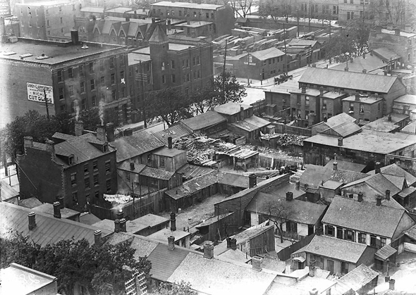 Toronto, The Ward, immigration, Discovery District, 1910