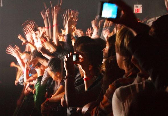 Ratatat crowd Sound Academy Toronto