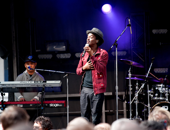 TIFF block party K'naan