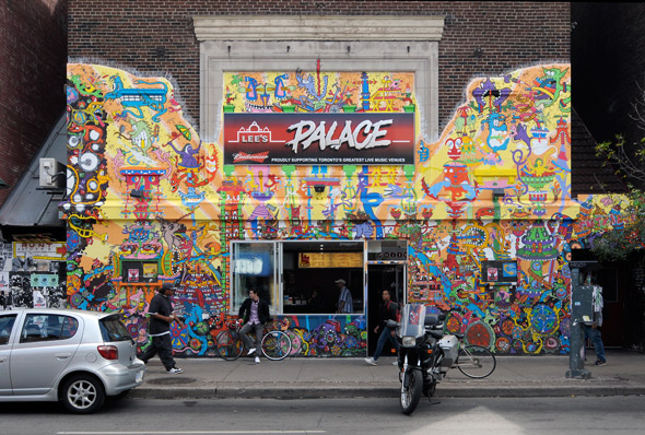 Lee's Palace Mural