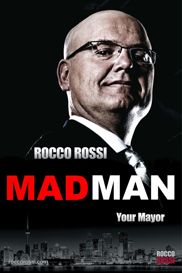 rocco rossi spoof ad