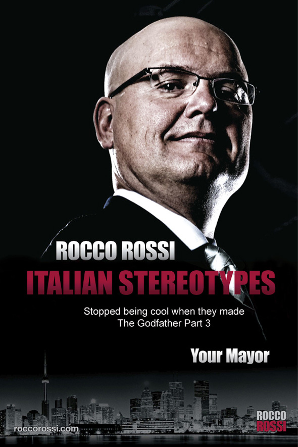 Rocco Rossi Spoof Ads