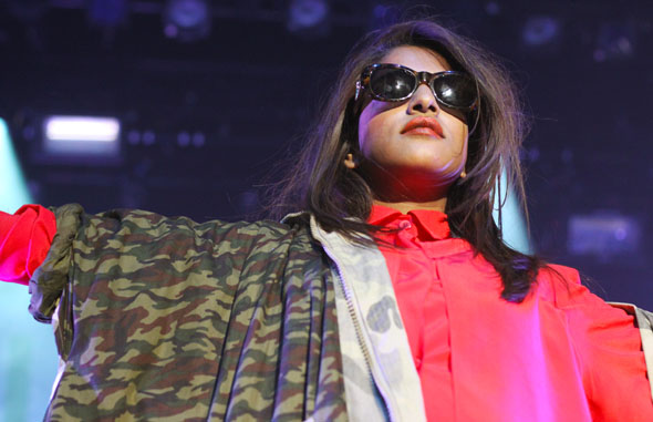 M.I.A. at Sound Academy