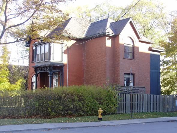 Andrew Mercer Reformatory for Women, Toronto, nineteenth century, superintendent's residence, Fraser Avenue