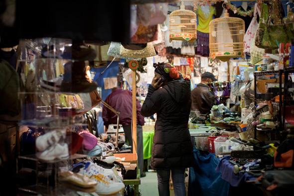 Nuit Blanche 2010 market