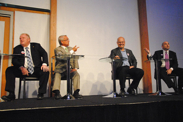 Mayoral Arts Debate Toronto