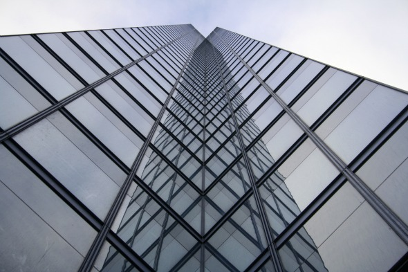 Bay Adelaide Centre as seen from the ground