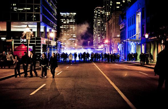 Yonge Street Nuit Blanche