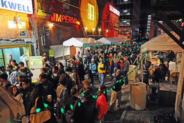 Mammalian Market Nuit Blanche