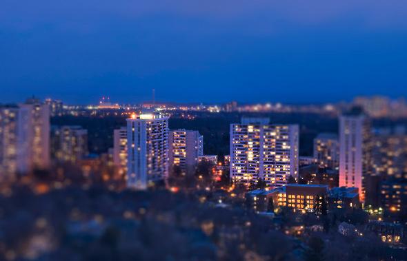 Tilt-Shift Toronto