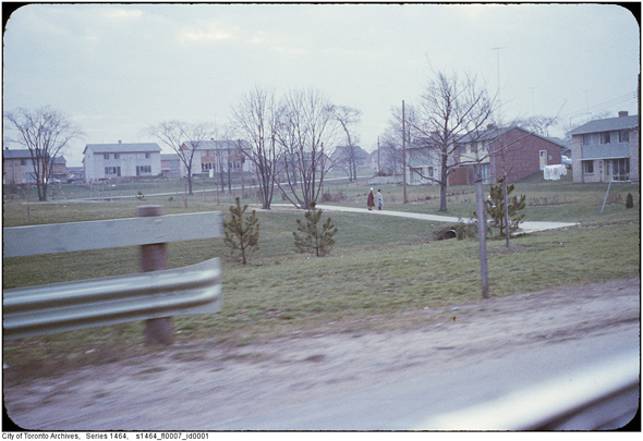 Don Mills, E.P. Taylor, Macklin Hancock, Don Mills Road and Lawrence Avenue East, 1950s, postwar suburban development, urban planning, urban studies, Toronto, North York