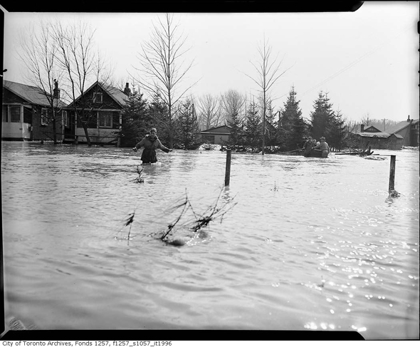 Toronto, Hurricane Hazel, October 15-16 1954