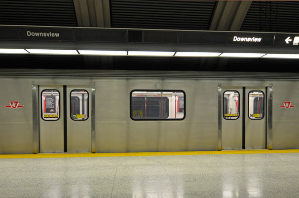 TTC Rocket subway train