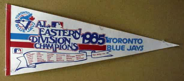 Blays Jays 1985 AL East