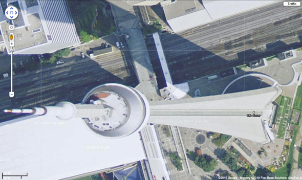CN Tower Google