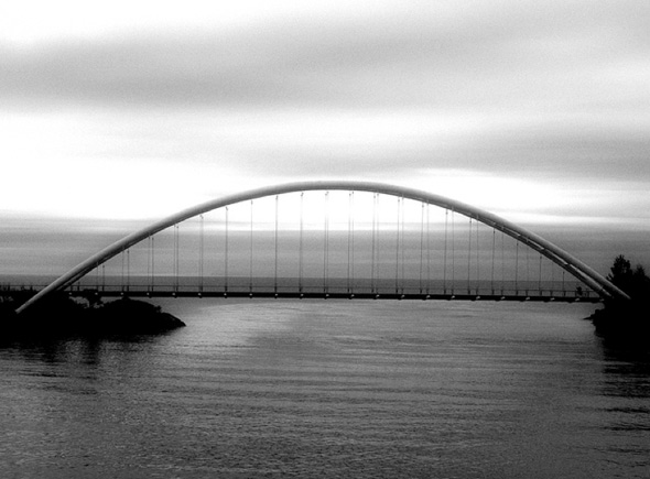 Humber Bay Bridge Toronto