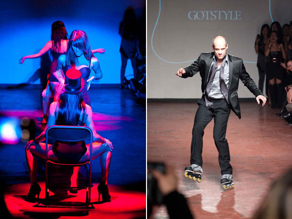 Kurt Browning Fashion Show