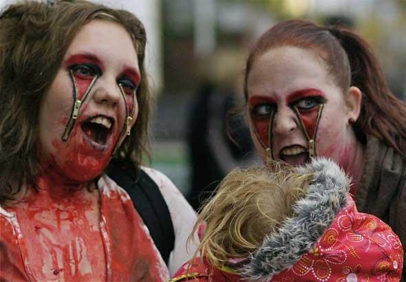 Toronto Zombie Walk 2010