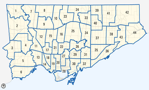 Toronto Election Results 2010