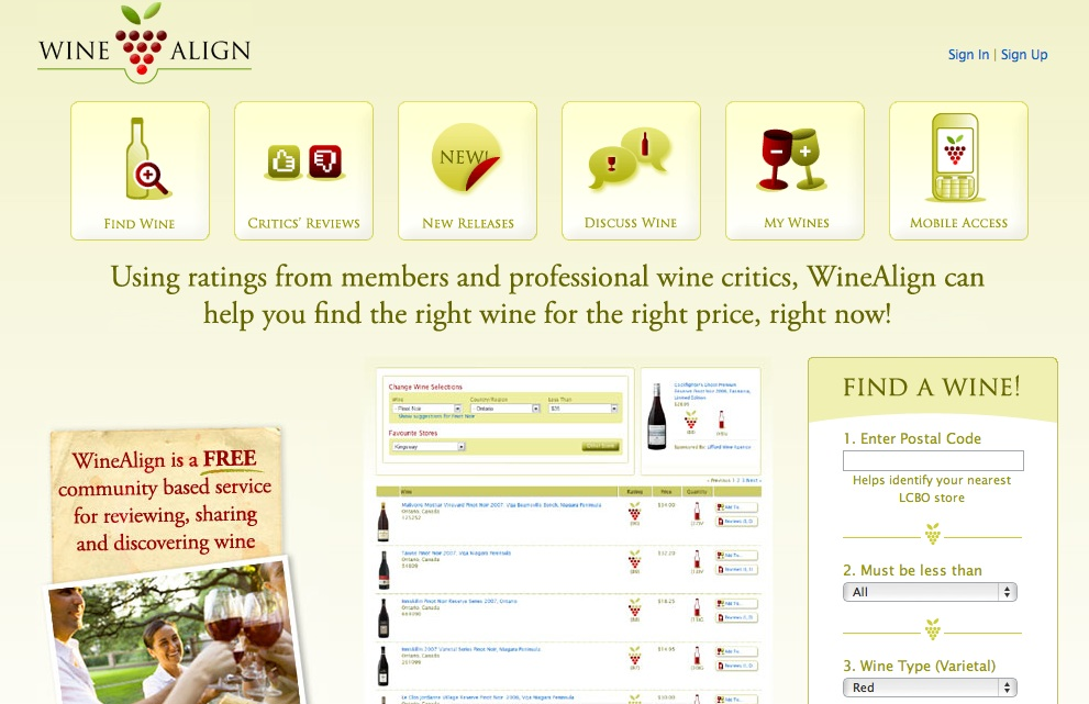 WineAlign