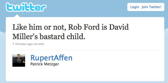 Toronto election Twitter #voteTO