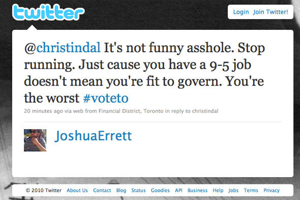Toronto Election Twitter