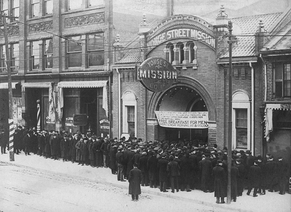 Great Depression Toronto