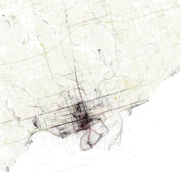 Eric Fischer Geotagger's Atlas