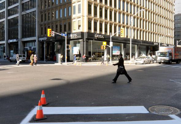 Pedestrian Scramble Bay Boor