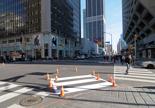 Pedestrian Scramble Bay Bloor