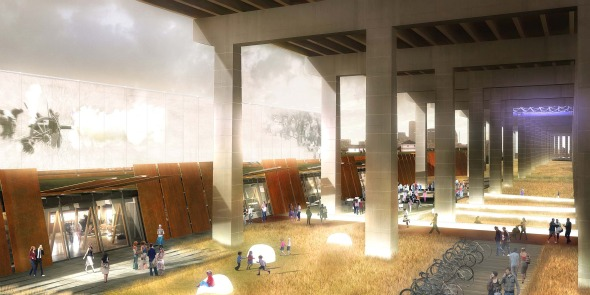 Patkau Architects design for the Fort York Visitor Centre