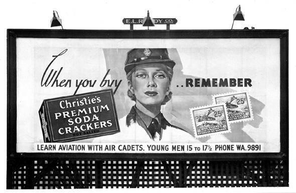 War Ad Toronto