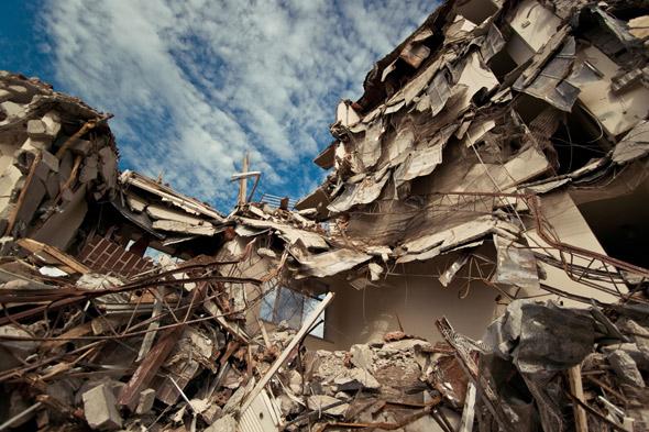 Toronto Apartment Demolition