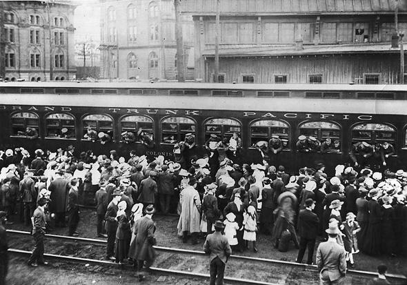 World War I Toronto