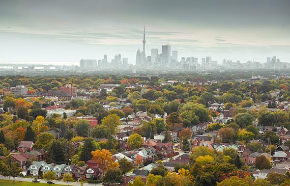 Toronto autumn