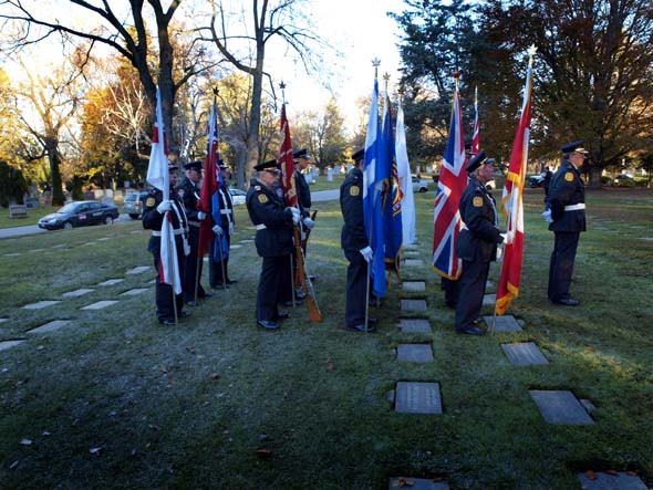 Prospect Cemetery's remembrance