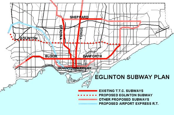 Eglinton West Subway Line