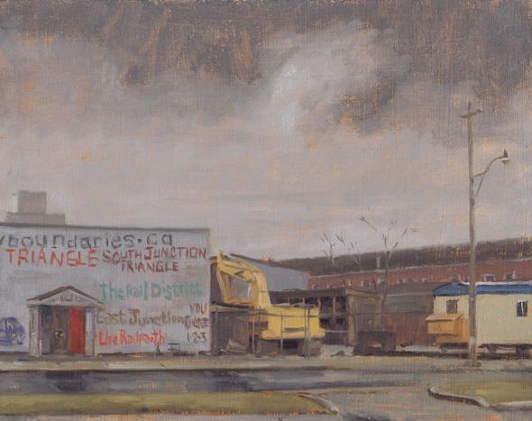 plein air painting toronto