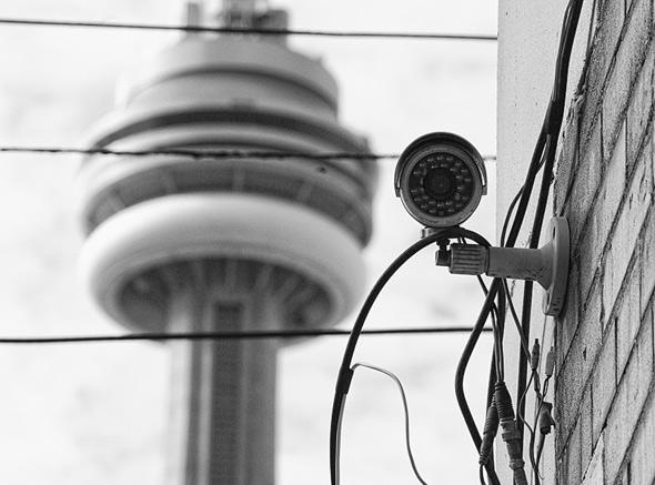 CCTV camera Toronto