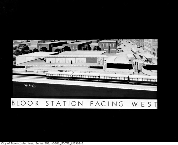 Bloor Station Historical