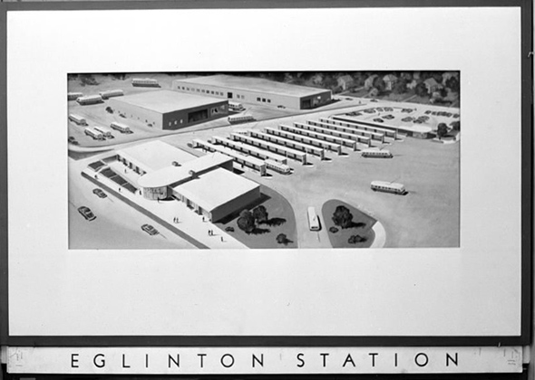 Eglinton TTC Station rendering