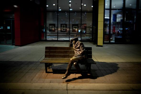 Glenn Gould Statue CBC
