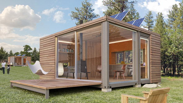 Portable Buildings Made Into Homes