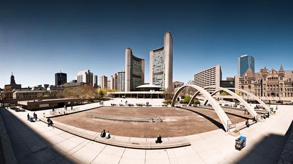 Toronto panorama photo