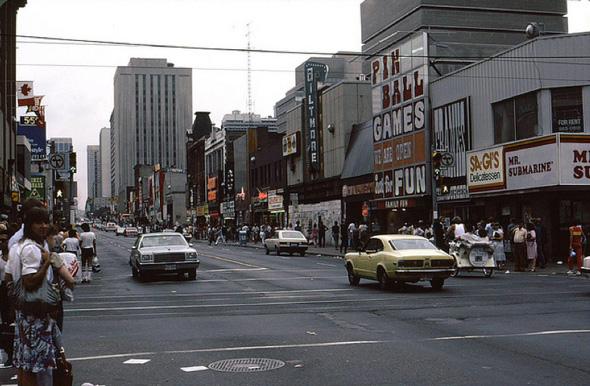 Yonge and Dundas 1980s